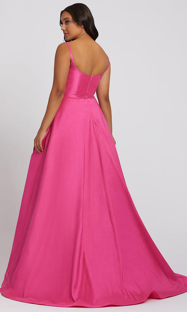 Mac Duggal - 67219F Scoop Neck Ballgown In Pink