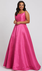 Mac Duggal - 67219F Scoop Neck Ballgown