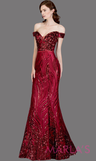 Long wine fitted sequin beaded mermaid evening gown. This strapless evening gown is perfect as dark red prom dress,wedding reception or engagement dress, formal wedding guest dress, maroon indowestern formal evening party gown.Plus sizes avail