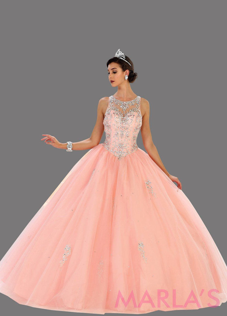 May Queen - LK76 Beaded Ball Gown