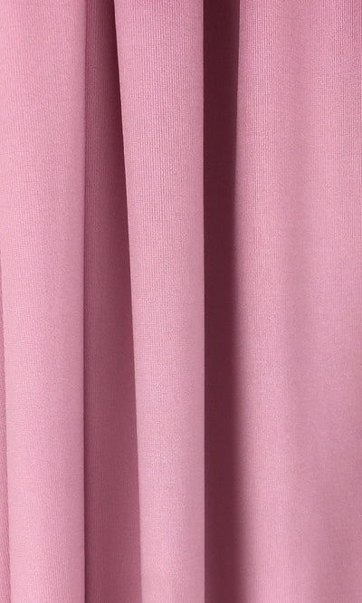 Dusty Rose Infinity Long Bridesmaid Dress Swatch and Mauve Convertible Dress Fabric and Pink Multiway Dress