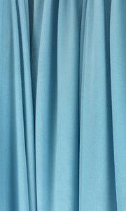 Aqua Infinity Long Bridesmaid Dress Swatch and Turquoise Convertible Dress Fabric and Blue Green Multiway Dress