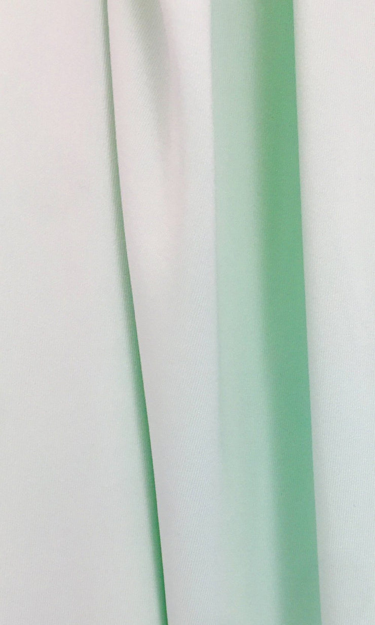 Mint Infinity Long Bridesmaid Dress Swatch and Mint Convertible Dress Fabric and Mint Multiway Dress