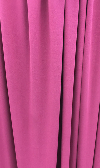 Magenta Infinity Long Bridesmaid Dress Swatch and Magenta Convertible Dress Fabric and Magenta Multiway Dress