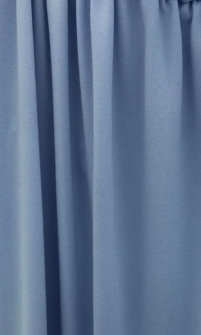 Periwinkle Infinity Long Bridesmaid Dress Swatch and Light Blue Convertible Dress Fabric and Baby Blue Multiway Dress
