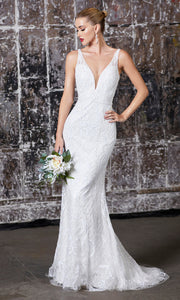 Cinderella Divine EW202 long white bridal dress