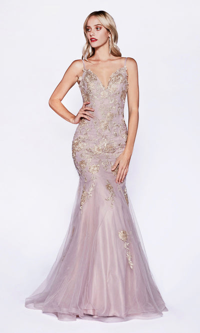 Cinderella Divine CDS321 lilac mermaid lace dress. Perfect light purple dress for prom, engagement/wedding reception dress, formal wedding guest dress, black tie event, gala. Plus sizes available-2.jpg
