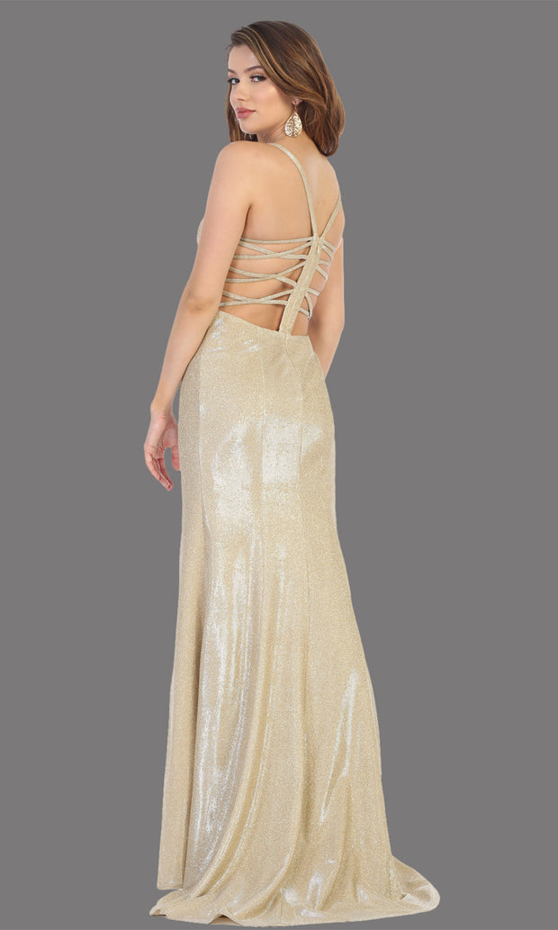 Mayqueen RQ7776-Long gold dress with open back & high slit-b.jpg