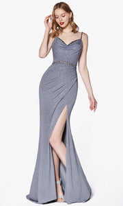 Cinderella Divine - CS035 Ruched Sheath Gown