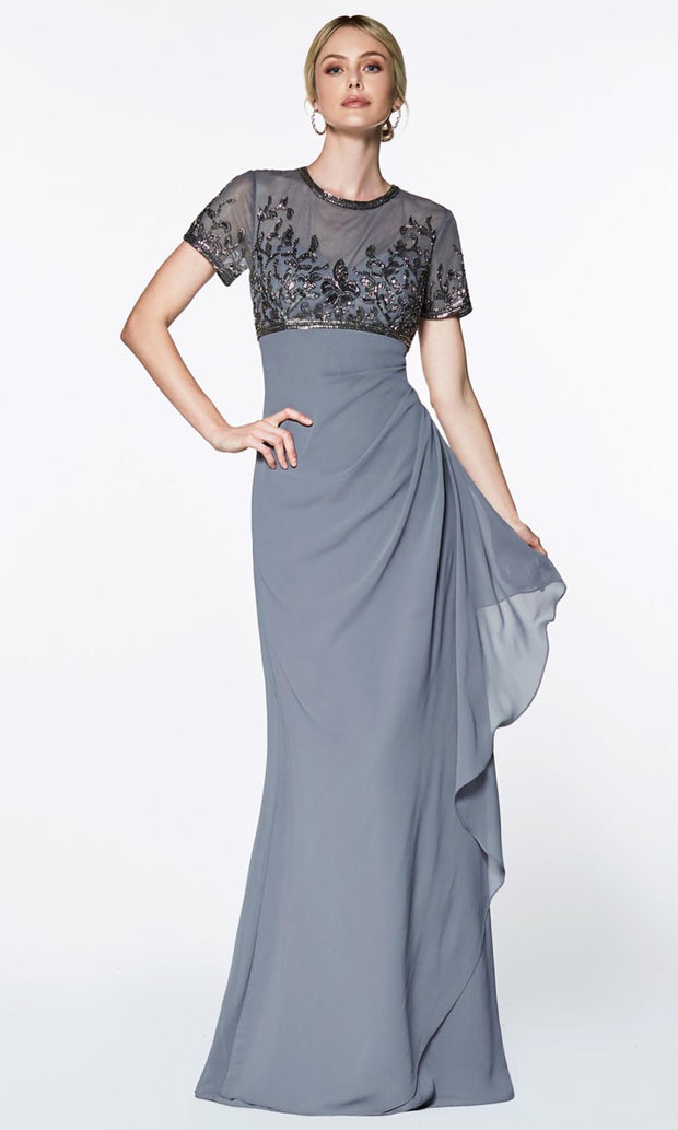 Cinderella Divine - J0295 Embellished Empire Dress