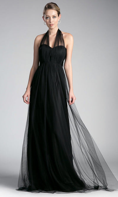 Cinderella Divine - ET322 Convertible Sweetheart Dress In Black