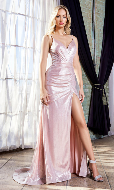 Cinderella Divine UV007 long metallic dress