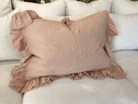 Vivianne Standard Sham Pair in Perfect Peach