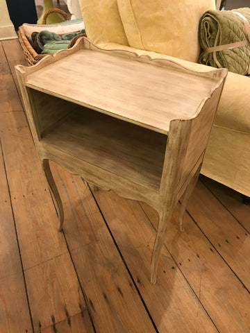 Manteo Side Table in Roasted Marshmallow - Retail $1,104.00