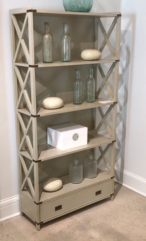 Arundel Bookcase in Truffle - Retail $2,670.00