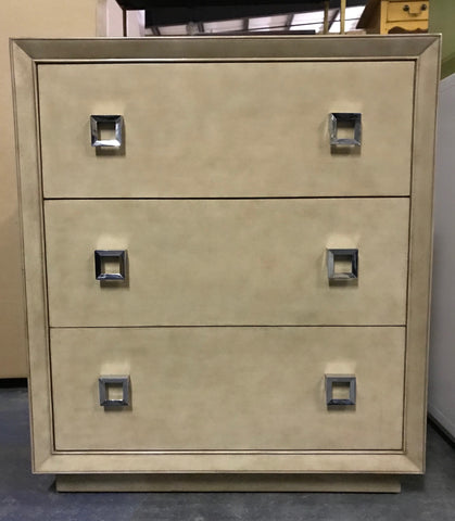 Malibu Loft Bedside Chest in Champagne - $1,802.00