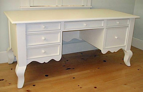 Queen Ann Desk antique white - Retail $3200