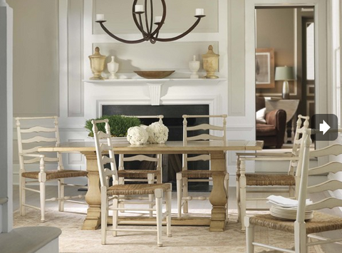 Lake Tahoe Dining Table in Carmel Chew - Retail $5,148.00