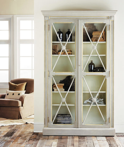 Swedish 2-Door Bookcase - Retail $4,194.00