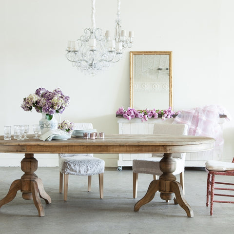 Shabby Chic Dining Table - Retail $4,200.00