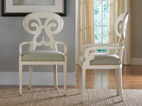 Carmel Arm Chair in Vanilla Bean - Retail $1,416.00