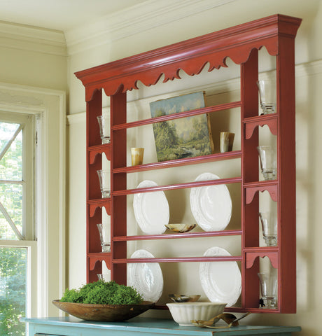 Edisto Large Plate Rack in Vanilla Bean - Retail $1,788.00