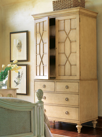 New Hope Linen Press in Butter Pecan - Retail $7,152.00