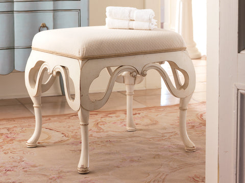 Pinehurst Single Bench in Vanilla Bean - Retail $1,122.00