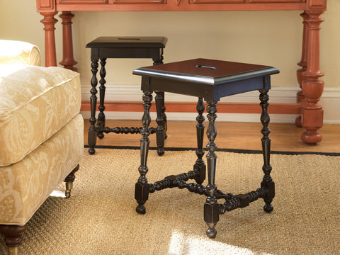 Ketchum Stool in Blueberry Crisp - Retail $882.00