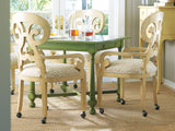 Southport Game Table in Butter Pecan - Retail $1,992.00