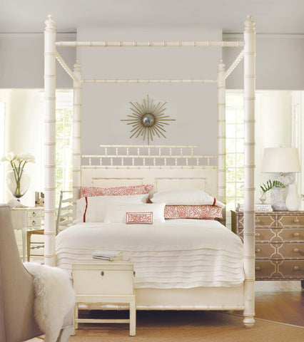 Summerland Key Twin Bed in Vanilla Bean (2 matching available)- Retail $6,552.00
