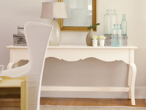 Bulls Bay Console in Vanilla Bean - Retail $3,156.00