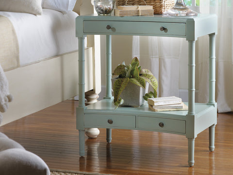 Cape Island Nightstand Pair in Pistachio Whip  - Retail $4,128.00 for 2