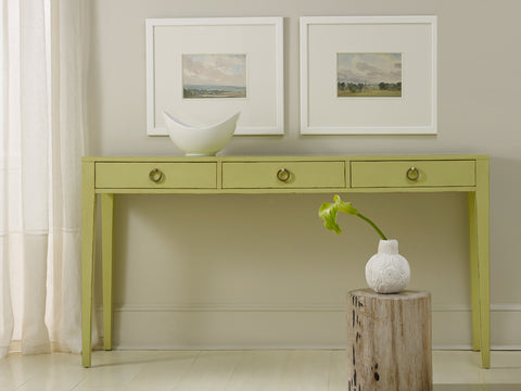 Transitions Three Drawer Console in Truffle - Retail $2295.00