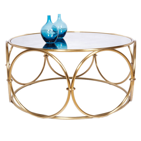 Hoop Cocktail Table/ Modern History - Retail $2,694.00