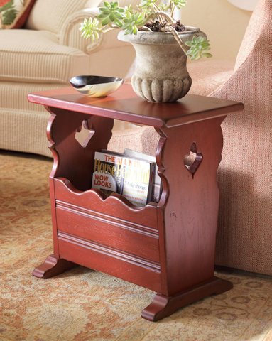 Dunkirk Magazine Table in Black Forest - Retail $1,218.00