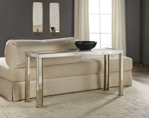 Transitional Metal Console - Retail $2,070.00