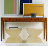 Vellum Stool Pair - Retail $2,870.00