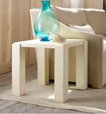 Transitions Modern End Table in Vanilla Bean - Retail $1,494.00