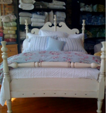 Chatham Queen Bed in Vanilla Bean - Retail $7,170.00