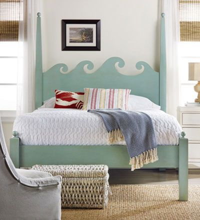 North Shore Cal.King Bed in Pistachio Whip - Retail $5,130.00