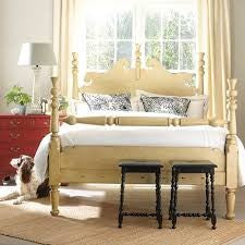 Chatham King Bed in Butter Pecan - Retail $7,752.00