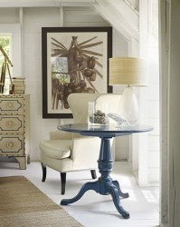 Cape Neddick End Table in Butter Pecan Retail $2,694