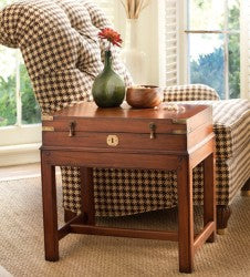 Chesapeake End Table in Black Forest Retail $1,656