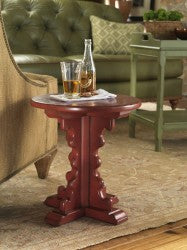 Jackson Hole End Table  in Cherry Cobbler Retail $1,578