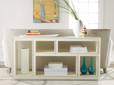 Transitions Horizontal Bookcase in Cotton Candy- Retail $3240