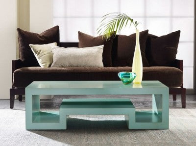 Geometric Cocktail Table in Truffle Retail $2,970