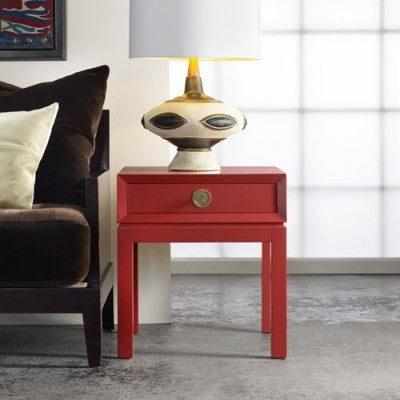 Mod End Table in Truffle Retail $1,470