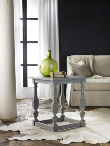 Italian Four Leg End Table/ Modern History - Retail $1,675.00