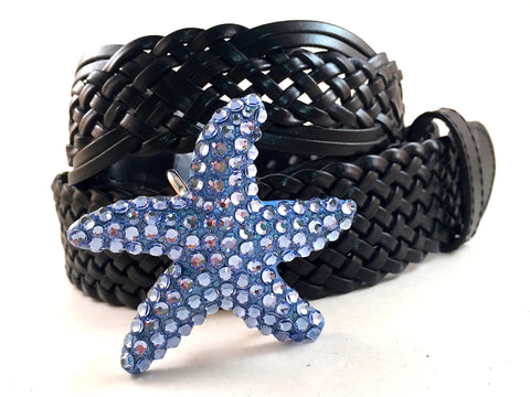 Starfish Belt Buckle Light Blue